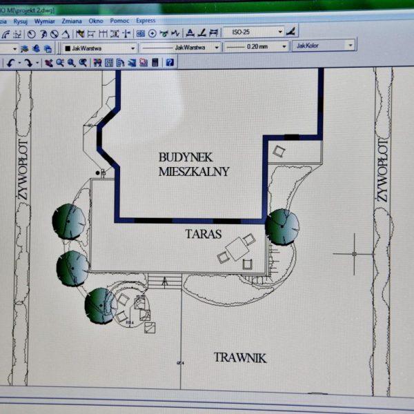 Projektowanie ogrodów - program komputerowy