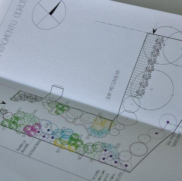 Projektowanie ogrodów - zestaw projektowy