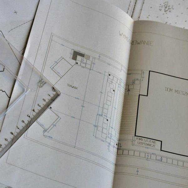 Projektowanie ogrodów - plan (wydruk)