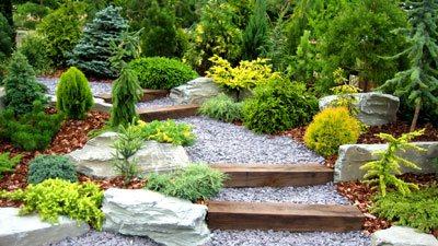 Zakładanie ogrodów - przykładowy ogród Białystok